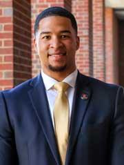 Terrence Hunter, a 2020 UM Law School graduate