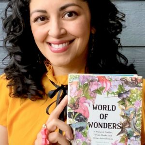 English professor and author Aimee Nezhukumatathil's 'World of Wonders: World of Wonders: In Praise of Fireflies, Whale Sharks, and Other Astonishments,' which has drawn widespread praise, is the university's 2021 Common Reading Experience selection. Submitted photo