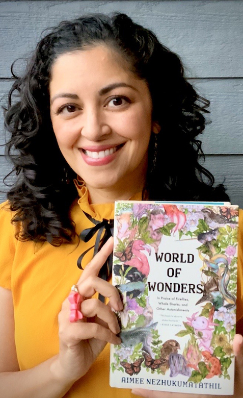 English professor and author Aimee Nezhukumatathil is set to deliver the keynote address for the university's annual Fall Convocation at 7 p.m. Aug. 24 in the Sandy and John Black Pavilion at Ole Miss. Her 'World of Wonders: In Praise of Fireflies, Whale Sharks, and Other Astonishments' is this year's Common Reading Experience selection for the university. Submitted photo