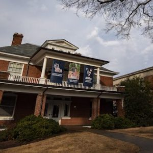 Grove Grocery has added a second, centralized location and kitchen in renovated George Street House, next to the J.D. Williams Library. Photo by Logan Kirkland/Ole Miss Digital Imaging Services