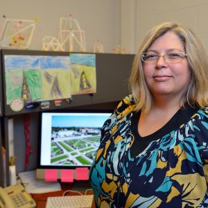 Tracy Case Koslowski, associate director of the UM Intensive English Program, has been selected by the U.S. Department of State for a six-week English language specialist virtual project. She plans to work with a team to design webinars to help English educators in the vicinity of Chengdu, China, incorporate critical thinking skill instruction into their courses. Photo by Thomas Graning/Ole Miss Digital Imaging Services