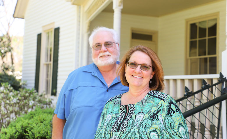 """Dr. Ralf Zapata and his wife, Rhonda, established a new endowment at the University of Mississippi as a way to """"give back"""" for the scholarships that had a transformative impact on their lives."""