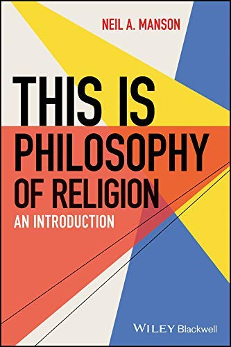 Neil Manson book This is Philosophy of Religion: An Introduction