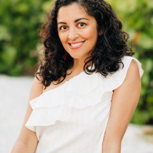 Aimee Nezhukumatathil, professor of English and creative writing