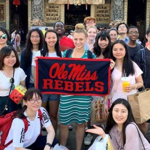 University of Mississippi students in the Chinese Language Flagship Program learn about the local culture, business community and language while studying in Taiwan. Thanks to a recent gift from American First National Bank, future study abroad trips to Taiwan will be more affordable for UM students.