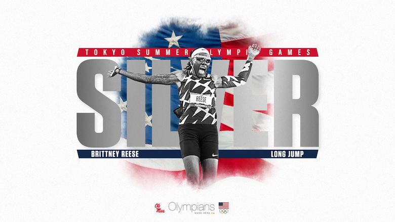 Brittney Reese 2021 Olympic Silver image