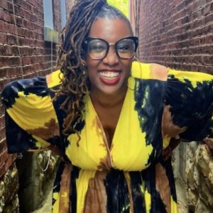 Deesha Philyaw will work on her next project while teaching a graduate fiction workshop and an undergraduate workshop as the university's 2022-23 John and Renée Grisham Writer-in-Residence. Photo courtesy Vanessa German