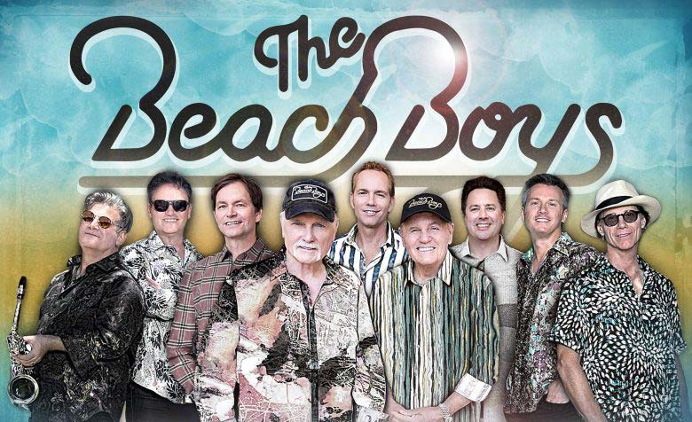 The legendary Beach Boys are set to play Dec. 11 at the Gertrude C. Ford Center for the Performing Arts. Submitted photo